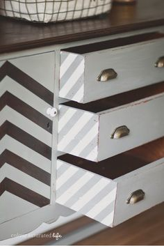 paint drawer sides. West Furniture Revival