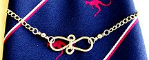 Tie Chain Made with Jewelry Wire Jewelry Making Project