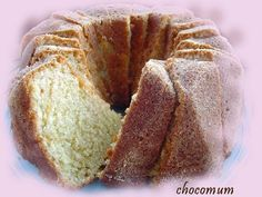 Fruit Bread, Baked Donuts, Little Cakes, Trifle, Coffee Cake, No Bake Cake, Cake Recipes, Food And Drink, Pie