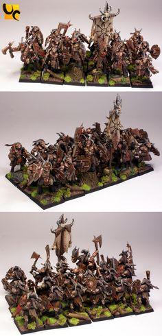 Warhammer FB | Beastmen | Gors #warhammer #ageofsigmar #sigmar #wh #whfb #gw…