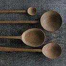 Wood spoons designed by Kirsten Hecktermann, UK. Crafted by hand in Kenya, East Africa.