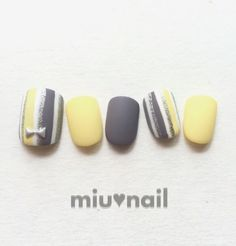 Yellow grey matte