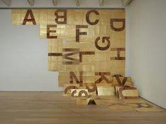 Danh Vo, Bowditch Alphabet