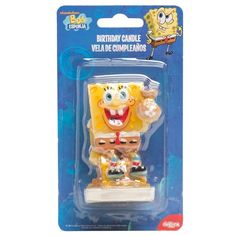 You can now buy Sponge Bob Candle online in very suitable price. Bakeware.pk is a bakeware marketplace where you can order online for best baking tools, decorations and cakes.