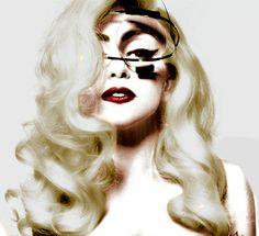 Lady Gaga.  #Hair