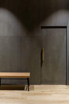 Projet d'architecture avec les panneaux bois-ciment de chez CETRIS, CETRIS BASIC et CETRIS AKUSTIC.  Photos : Agathe Tissier Architecte d'intérieur Projet : Agathe Perroy Agence d'Architecture : High Graph Projet / HRCLS Groupe Havas Préparation panneaux : BAUSAL GmbH