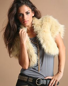 fur shrug to make