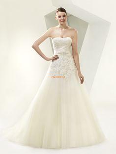 Sans bretelles Sablier Empire Robes de mariée 2014