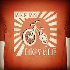 You will find all different shirts for cyclists here. Different styles, funny quotes, different bikes for every bicycle fan, either trekking bike, BMX or MTB. Check out my biking fashion store...