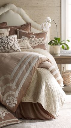 Soft Neutrals in Master Bedroom