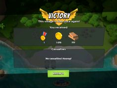 Boom Beach by Supercell - Combat Results