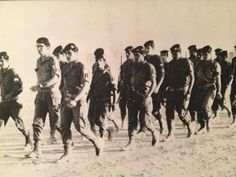 'G-d Bless our Soldiers and People of Israel! My father third from left. Marching and leading his division during the Six-Day War, June 1967 at the Suez Canal. One People! One Nation! #AmYisraelHai' Source:Yehuda Azoulay