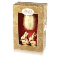 Gold Bunny Luxury Egg 260g #WinEasterChocolateWithLindt