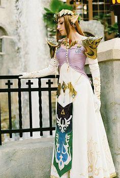 Princess Zelda #cosplay by Mary Elam