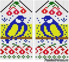 VK is the largest European social network with more than 100 million active users. Knitted Mittens Pattern, Knitting Paterns, Knit Mittens, Knitting Charts, Knitted Gloves, Knitting Socks, Cross Stitch Embroidery, Knit Crochet, Ravelry