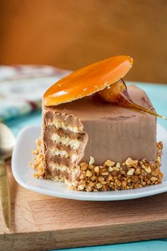 Bajo una nube de azúcar glas: Dobos Torte Hungarian Cake, Pastry School, Holiday Cakes, Pastry Cake, Fabulous Foods, Yummy Cakes, Cake Decorating, Yummy Food, Sweets