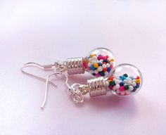 Candy earings, quirky cute :)