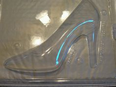 "Stilettos Shoe 2 piece Chocolate Mold  approx. a size 5 1/2"" shoe by Chocolatenest on Etsy"