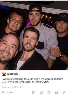 T-Segs, C-Evs, and Gronk <<< this is not OK