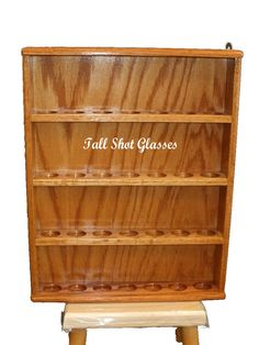Tall Shot Glass Display Cases (free Shipping)