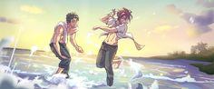 Rin x Sousuke - oho - dumping a sourin one!
