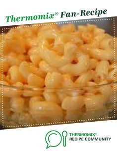 Best Macaroni and Cheese by scottzed. A Thermomix <sup>®</sup> recipe in the category Pasta & rice dishes on .au, the Thermomix <sup>®</sup> Community. Maccoroni And Cheese, Best Macaroni And Cheese, Mac Cheese, Thermomix Recipes Healthy, Cooking Recipes, Rice Dishes, Food Dishes, Bellini Recipe, Macaroni Recipes