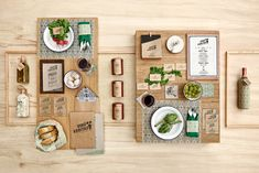 Foto 2: Proyecto de branding para restaurante de comida orgánica inspiracion diseno galerias imagenes branding diseno