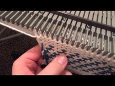 Forward&Backward Slash Fairisle Pattern On The Bond - YouTube
