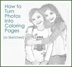 How to make creative gifts from photos (coloring pages, pendants, puzzles, etc. all from personal photos)