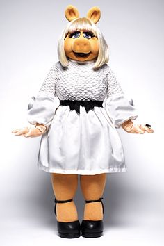 I love Miss Piggy and the Muppets