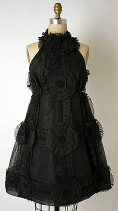 Dress, Evening  Arnold Scaasi (American, born Canada, 1931)  Date: 1969 Culture: American Medium: [no medium available].  Credit Line: Gift of Mrs. Frederick A. Melhado, 1975!!!