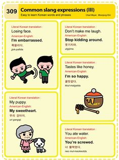 309 Common slang expressions (III)