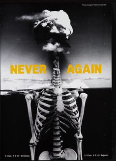 'Never Again' poster by Gladwin after Kennard's original photomontage, UK, Museum Number Good Charlotte, Photomontage, Protest Posters, E Mc2, Political Art, Political Events, Exhibition Poster, Anatomy Art, Human Anatomy