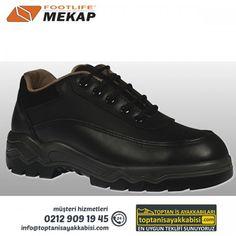 Mekap iş ayakkabısı 042 ALPİNA Siyah