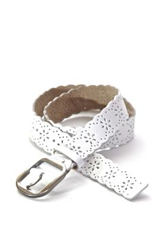 The Mrs. Darcy Belt in Milk