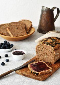 Nussbrot Banana Bread, French Toast, Breakfast, Desserts, Food, Rye, Dessert Ideas, Food Food, Postres