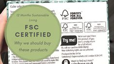 Living sustainably with paper starts with buying sustainably sourced paper products like those with the FSC logo on them. Paper Suppliers, Recycling Process, Social Policy, Forest Stewardship Council, Paper Products, Positive And Negative, Sustainable Living, 12 Months, Sustainability