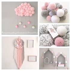 Yarn pom-poms the easiest way
