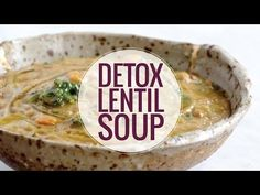 The Best Detox Crockpot Lentil Soup - Pinch of Yum