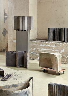 Bram Vanderbeke, Extruded Expressions, akoestische constructie-elementen