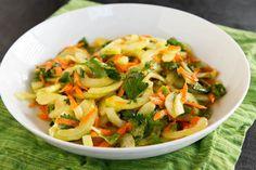 Tanzanian Cucumber Salad (Kachumbari Ya Matango) — A Taste of Tanzania - La Fuji Mama Raw Food Recipes, Appetizer Recipes, Vegetarian Recipes, Cooking Recipes, Appetizers, Tanzanian Recipe, Zambian Food, Tanzania Food, Around The World Food