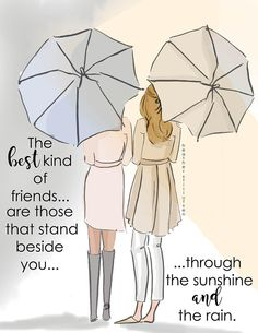 Friendship Cards - The Best Kind of Friends - Cards for Friends - Art for Women -Friendship Quotes Art for Women - Inspirational Art