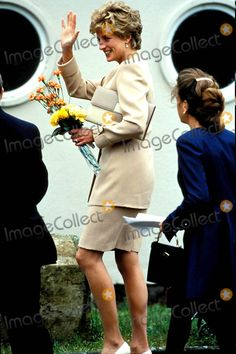 Princess Diana Didcot and Oxford Photo: Dave Chancellor-alpha-Globe Photos Inc 1993