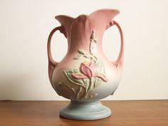Hull Pottery Magnolia Vase - 1940s