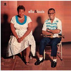 Ella Fitzgerald & Louis Armstrong - Ella & Louis [Vinyl LP] - Amazon.com Music
