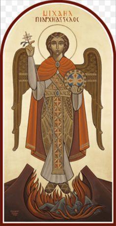 Szent Mihály arkangyal orthodox ikon nagyon szép