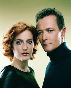 Gillian Anderson & Robert Patrick (X-Files)