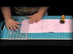 "CGRHST3878- 3/8"" & 7/8"" Half-Square Triangle Ruler"
