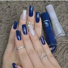 Semi-permanent varnish, false nails, patches: which manicure to choose? - My Nails Perfect Nails, Gorgeous Nails, Stylish Nails, Trendy Nails, Dodger Nails, Hair And Nails, My Nails, Nagellack Design, Manicure E Pedicure