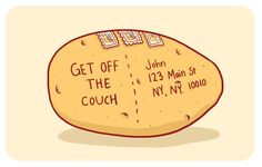 A Potato | 21 Things You'd Be Surprised You Can Actually Mail